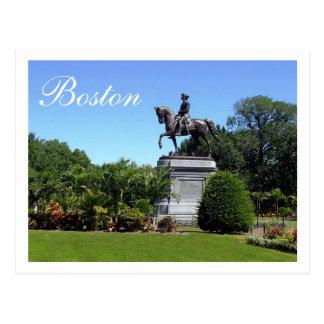 ボストン庭、ボストンマサチューセッツ郵便はがき ポストカード