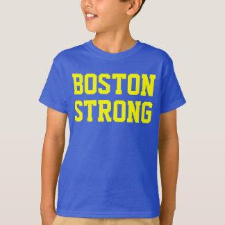 ボストン強く青い黄色 Tシャツ