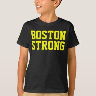 ボストン強く黄色い黒 Tシャツ