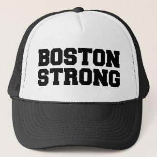 ボストン強く黒い文字の帽子 キャップ