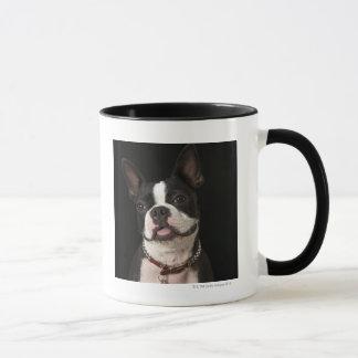 ボストン微笑のテリア マグカップ
