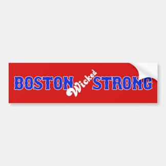 ボストン悪賢く強い2013年4月15日 バンパーステッカー