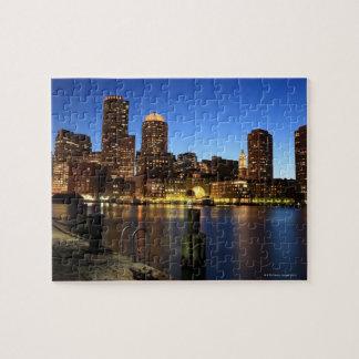 ボストン港およびスカイライン。  ボストンは7の1つです ジグソーパズル