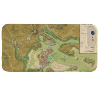 ボストン港1776年の革命的な戦争の地図 BARELY THERE iPhone 6 PLUS ケース