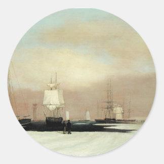 ボストン港1835年 ラウンドシール