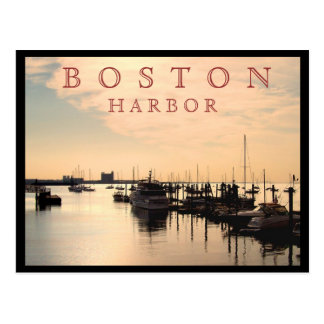 ボストン港 ポストカード