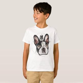 ボストン王テリアの子供 Tシャツ