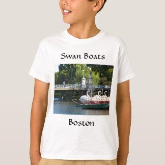 ボストン白鳥のボートのTシャツ Tシャツ