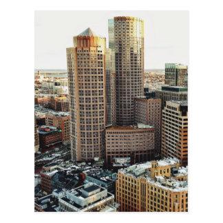 ボストン眺め ポストカード
