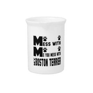 ボストン私のテリアと台なしにします ピッチャー