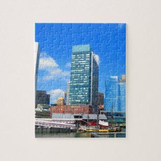 ボストン都市建物nの都市景色 ジグソーパズル