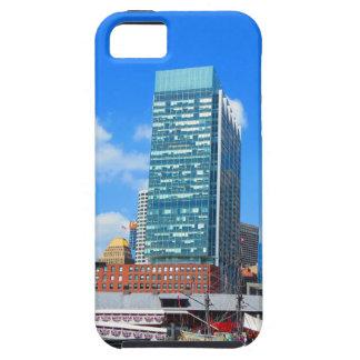 ボストン都市建物nの都市景色 iPhone SE/5/5s ケース
