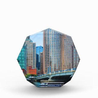 ボストン都市都市Landcapeはarcchitectureそびえています 表彰盾