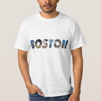 ボストン都市 Tシャツ