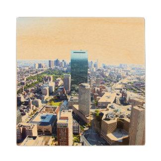 ボストン2の空中写真 ウッドコースター