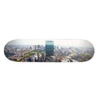 ボストン2の空中写真 スケートボードデッキ