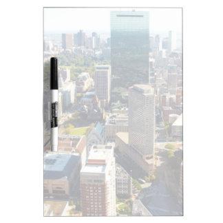 ボストン2の空中写真 ホワイトボード