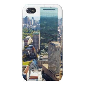 ボストン2の空中写真 iPhone 4 ケース