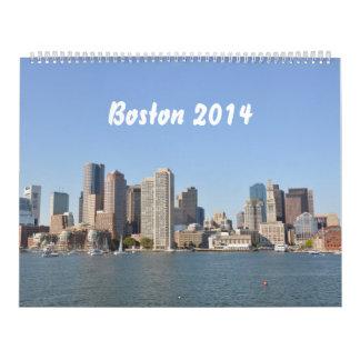ボストン2014年(2p) カレンダー