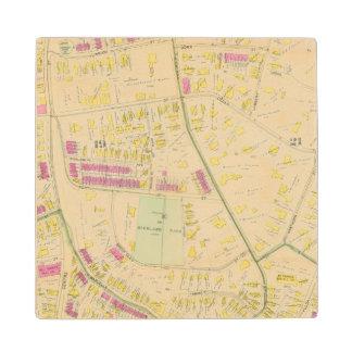 ボストン7の地図 ウッドコースター