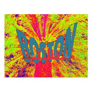 ボストン ポストカード