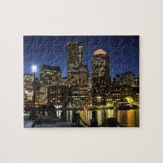 ボストン、マサチューセッツスカイライン ジグソーパズル