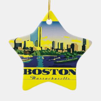 ボストン、マサチューセッツ セラミックオーナメント