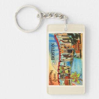 ボストン#2マサチューセッツMAヴィンテージ旅行記念品 キーホルダー