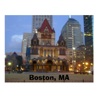 ボストン、MA ポストカード