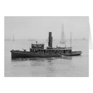 ボストンHarbor 1906年の消防艇 カード