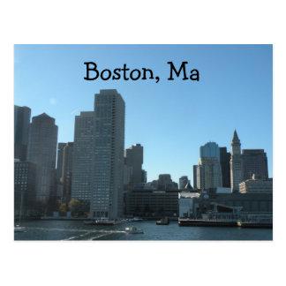 ボストンMA郵便はがき ポストカード