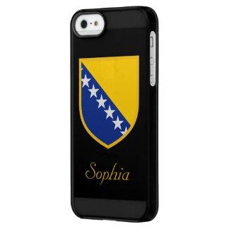 ボスニアおよびHerzegoviniaの旗 Permafrost iPhone SE/5/5sケース