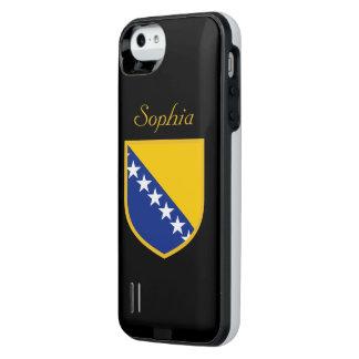 ボスニアの個人的な旗 iPhone SE/5/5sバッテリーケース