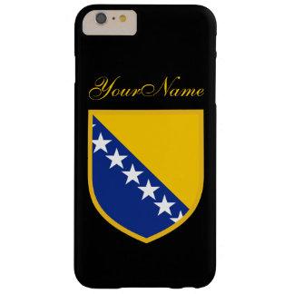 ボスニアの旗 BARELY THERE iPhone 6 PLUS ケース