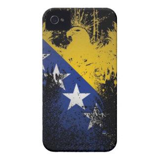 ボスニアの旗 Case-Mate iPhone 4 ケース