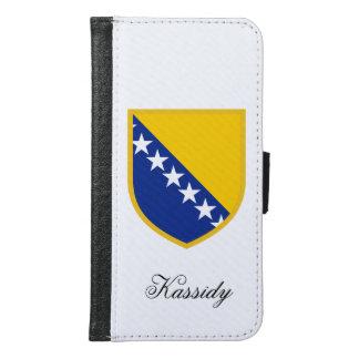 ボスニアの旗 GALAXY S6 ウォレットケース