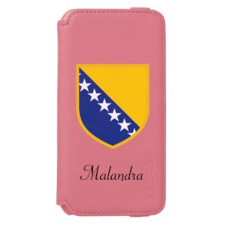 ボスニアの旗 INCIPIO WATSON™ iPhone 5 財布型ケース