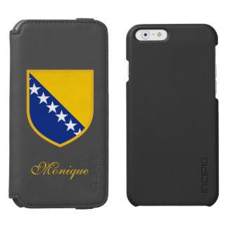 ボスニアの旗 INCIPIO WATSON™ iPhone 6 財布ケース