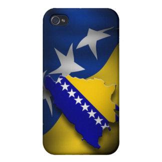 ボスニアの旗 iPhone 4/4S CASE