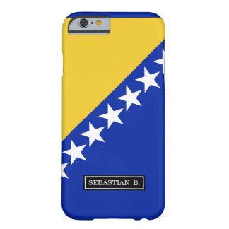 ボスニアの旗 iPhone 6 ベアリーゼアケース