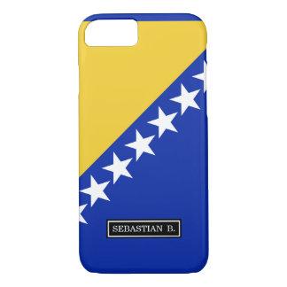 ボスニアの旗 iPhone 7ケース
