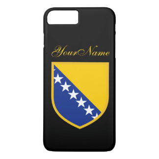 ボスニアの旗 iPhone 7 PLUSケース