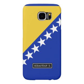 ボスニアの旗 SAMSUNG GALAXY S6 ケース