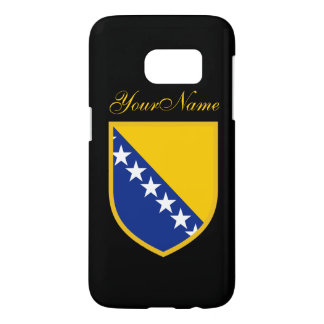 ボスニアの旗 SAMSUNG GALAXY S7 ケース