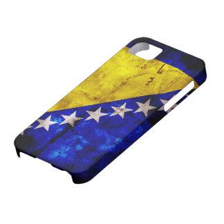 ボスニアの風化させた旗 iPhone 5 COVER