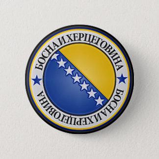 ボスニア・ヘルツェゴビナの円形の紋章 5.7CM 丸型バッジ