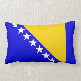 ボスニア・ヘルツェゴビナの国旗の枕 ランバークッション