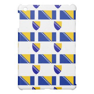 ボスニア・ヘルツェゴビナの旗そして頂上 iPad MINIカバー