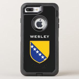 ボスニア・ヘルツェゴビナの旗 オッターボックスディフェンダーiPhone 7 PLUS ケース