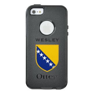 ボスニア・ヘルツェゴビナの旗 オッターボックスiPhone SE/5/5s ケース